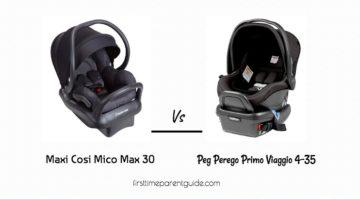 The Maxi Cosi Mico Max 30 Or Peg Perego Primo Viaggio 4-35?