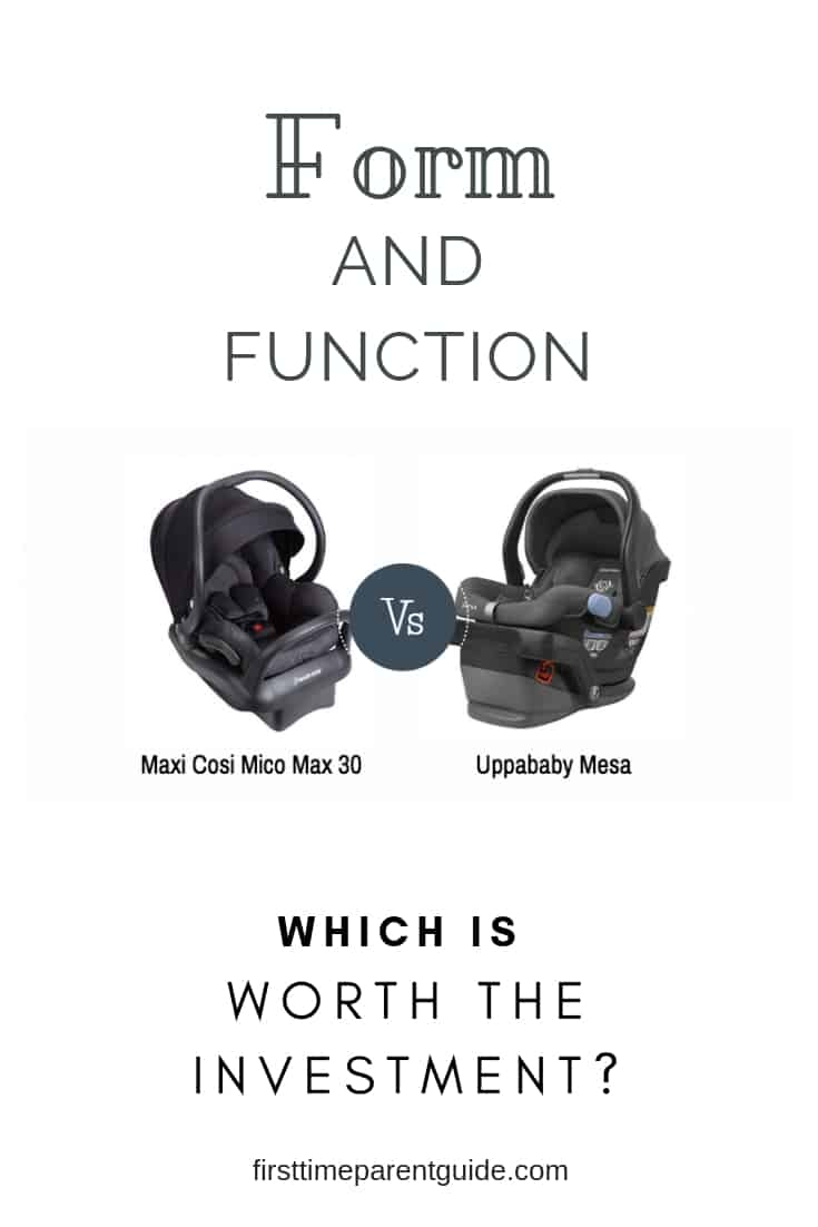 The Maxi Cosi Mico Max 30 Vs Uppababy Mesa