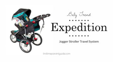 The Baby Trend Expedition Jogger Travel System