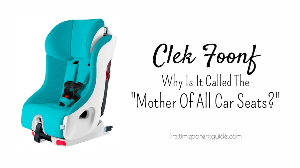 Foonf Car Seat >> The Clek Foonf The Mother Of All Car Seats