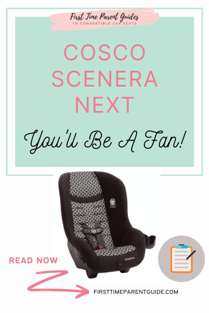 The Cosco Scenera Next Car Seat