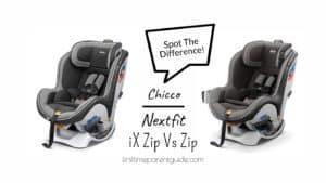 The Chicco Nextfit iX Zip Or