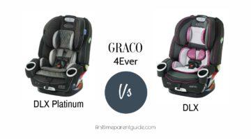 The Graco 4ever DLX Platinum and
