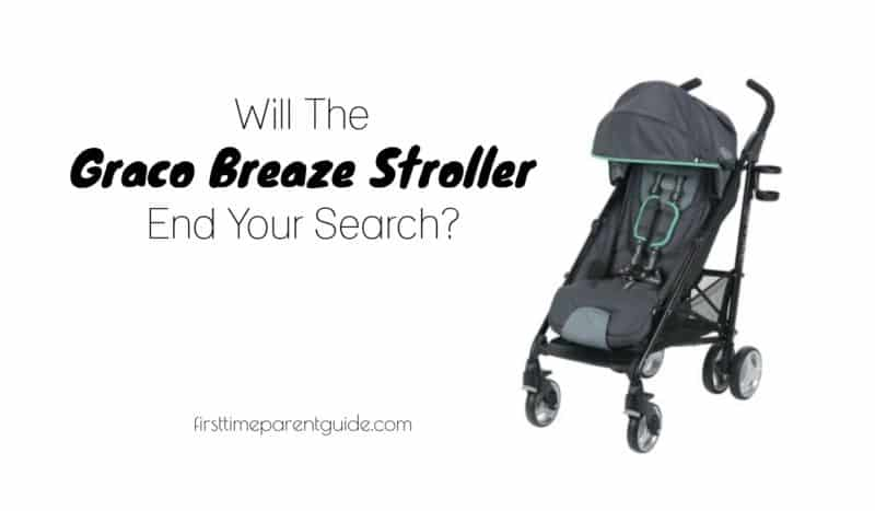 The Graco Breaze Click Connect Stroller