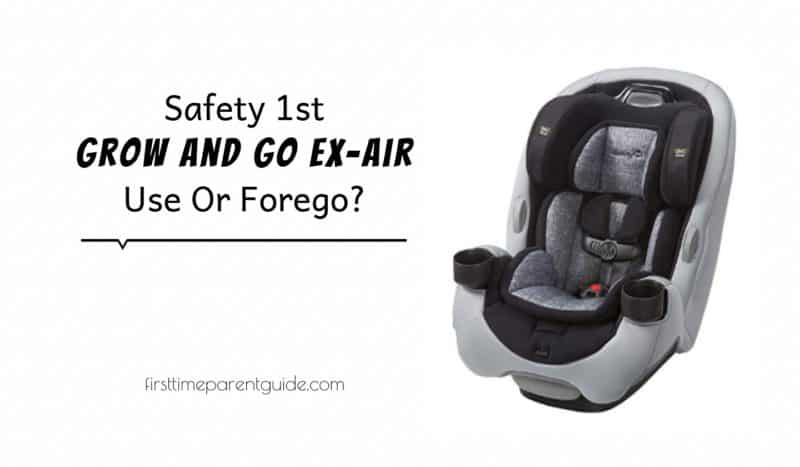 The Safety 1st Grow And Go Ex Air