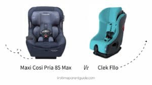 The Maxi Cosi Pria 85 Max Convertible Car Seat Or