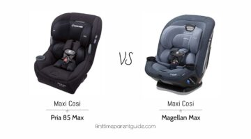 The Maxi Cosi Pria 85 Max Convertible Car Seat And
