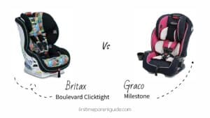 The Britax Boulevard Clicktight Car Seat And