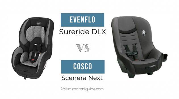 The Evenflo Sureride DLX And