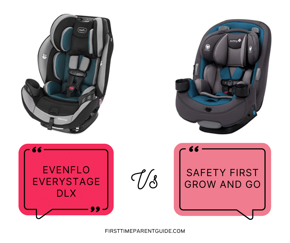 The Evenflo Everystage Dlx Vs Safety, Evenflo Vs Safety First Car Seats